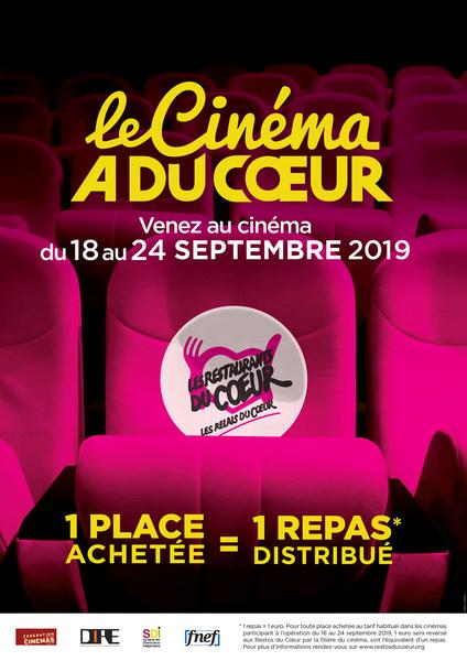 Le cinéma a du cœur 2019